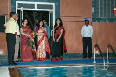 CAG at swimming pool facility